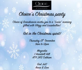 CHOICE'S Christmas party