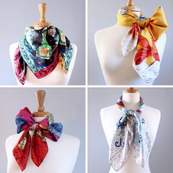 Silk Scarves by Charlotte Olsson